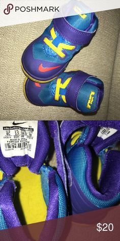 70ea9ee3b73ac Baby Lebron James Nike shoes size 4C Only worn a few times. Great condition.