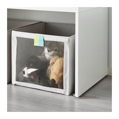 SLÄKTING Box IKEA Fits perfectly in STUVA storage system or as a freestanding box for small items or clothes. Childrens Storage Boxes, Kids Storage, Small Storage, Storage Baskets, Storage Drawers, Storage Ideas, Kids Church Rooms, Kids Rooms, Bunny Nursery