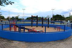 Prefeitura de Boa Vista investe na revitalização das praças #pmbv #prefeituraboavista #boavista #roraima #obras