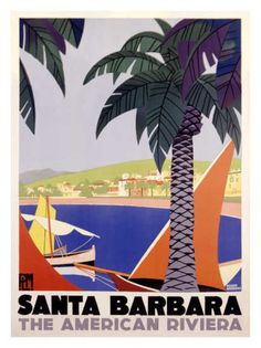Conveniently located between Los Angeles and San Francisco along California's Central Coast, #SantaBarbara is justly awarded the title of The American Riviera®.