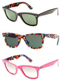 Rayban sunglasses with Matt W. Moore graphics! pretty cool!