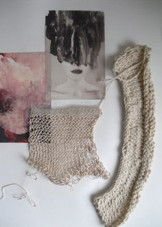 Fashion Sketchbook - knit samples; textile research; knitwear design development; fashion portfolio