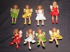 Zelf gemaakt beeldjes en beelden van porselein klei / Homemade figurines and images