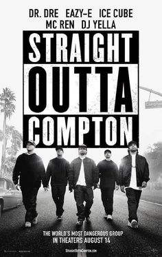 """Straight Outta Compton (2015) ... In 1988, a groundbreaking new group revolutionizes music and pop culture, changing and influencing hip-hop forever. N.W.A's first studio album, """"Straight Outta Compton,"""" stirs controversy with its brutally honest depiction of life in Southern LA. With guidance from veteran manager Jerry Heller, band members Ice Cube, Dr. Dre, Eazy-E, DJ Yella and MC Ren navigate their way through the industry, acquiring fame, fortune and a place in history. (22-Mar-2016)"""