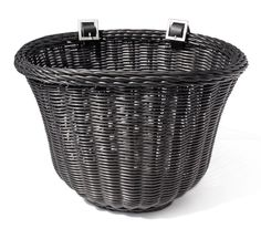Colorbasket Adult Front Handlebar Bike Basket, Black