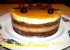 Ζαχαροπλαστική Πanos: Τούρτα καραμέλα - πραλίνα Tiramisu, Ethnic Recipes, Food, Eten, Tiramisu Cake, Meals, Diet