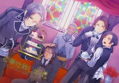 Tales of Xillia ~ Ludger, Gaius, Rown, Alvine and Jude ~ alternate outfits