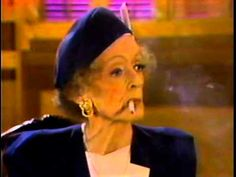 BETTE DAVIS COVERS SOME PRETTY HEAVY SUBJECTS WITH BRYANT GUMBEL, 1987 {...