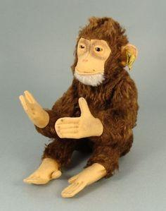 Steiff Jocko Monkey, ca. 1950