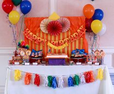 Circus-Themed Kids Birthday Party - Project Nursery