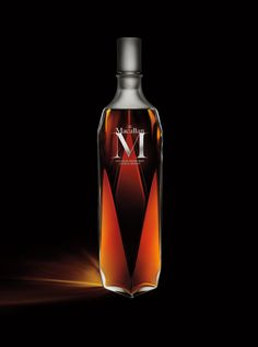 The Macallan M, a rare, limited-edition bottle of single malt Scotch.