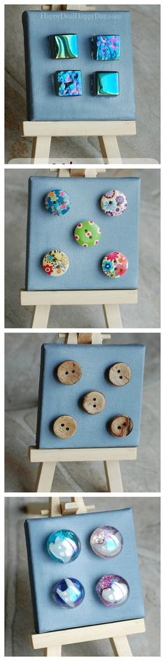 Magnets for Lockers - Very Cute Back-To-School Idea!!!!!    happydealhappyday.com