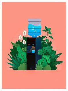 """다음 @Behance 프로젝트 확인: \u201c""""Oasis"""" Poster\u201d https://www.behance.net/gallery/47718349/Oasis-Poster"""