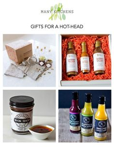 gifts for a hot-head   manykitchens.com