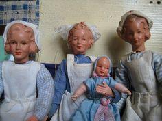 1960er Caco nurses by diepuppenstubensammlerin, via Flickr...Call the Midwife!!!  :)