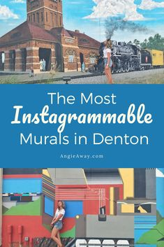 Check out these super cute murals near Dallas, Texas. Up your Instagram game with these Denton murals and show your arty side. Including addresses and artist names, this is the ultimate guide to Dentons most famous murals. #Murals #Art #Dallas #Denton