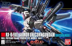 HGUC RX-0 Full Armor Unicorn Gundam [Unicorn Mode]