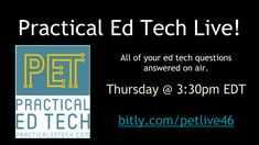 My YouTube channel  currently has more than 500 videos that I have created to demonstrate all kinds of ed tech tools for everything from c...