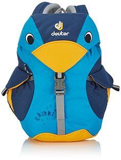Shop Deuter Kid's Kikki Backpack - Turquoise/Midnight, 35 x 20 x 16 cm. Best Backpacks For School, Cool Backpacks, Modern Kids Toys, Back To School Bags, 2 Year Olds, Hiking Backpack, Kids Bags, Old Boys, Backpacker