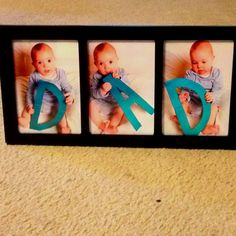 My husband's father's day present. Fathers Day Presents, Happy Pictures, Daddy Gifts, Time Photo, Creative Kids, Future Baby, Artsy Fartsy, Baby Photos, Arts And Crafts