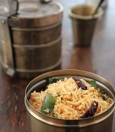 South Indian Garlic and Coconut Rice
