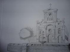 Isolated church...