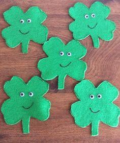 Felt Board Ideas: St. Patrick's Day Felt Board Story