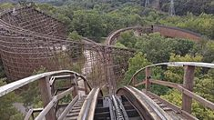 The Beast is a huge wooden coaster that has operated at Kings Island in Ohio since and at is the longest wooden coaster and third longer roller . Roller Coasters, Kings Island, Wooden Coasters, My Ride, Worlds Of Fun, Garden Bridge, Beast, Outdoor Structures, Animales