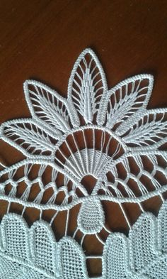 This Pin was discovered by RacLesson one in crochet basic stitches and symbols for beginners – Artofit Beaded Flowers Patterns, Flower Embroidery Designs, Crochet Doily Patterns, Hand Embroidery Patterns, Lace Embroidery, Crochet Flower Tutorial, Form Crochet, Crochet Lace, Needle Lace