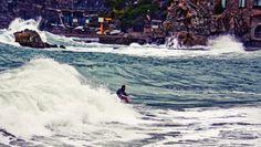 #Ripcurl search #CinqueTerre starts in #Levanto - Photo by #Surf Levanto