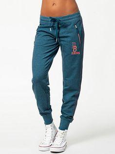 Pepi Pants - Björn Borg - Blue - Trousers - Sports Fashion - Women - Nelly.com Uk