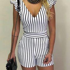 59 ideas fashion nova jumpsuit rompers for 2019 Fashion Nova Jumpsuit, Jumpsuit Outfit, Summer Outfits, Casual Outfits, Cute Outfits, Fashion Outfits, Best Prom Dresses, Pinterest Fashion, Chor
