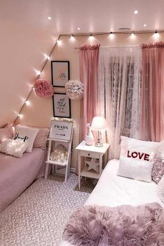 Fantastische Tween Mädchen Schlafzimmer Ideen dream house luxury home house rooms bedroom furniture home bathroom home modern homes interior penthouse My New Room, My Room, Twin Room, Girl Bedroom Designs, Bedroom Girls, Bedroom Bed, Attic Bedroom Ideas For Teens, Tween Girl Bedroom Ideas, Girls Bedroom Curtains