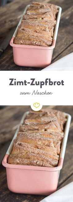Zimt-Zupfbrot - willkommen im Gebäck-Himmel Tritt ein in den süßen Gebäck-H. Cinnamon plucked bread - welcome to the pastry heaven Step into the sweet pastry heaven: With this irresistible cinnamon Baking Recipes, Cake Recipes, Dessert Recipes, Pastries Recipes, Receitas Crockpot, Sweet Pastries, How To Make Bread, Appetizer Recipes, Appetizers