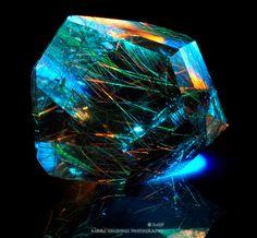 Blue Rutilated Quartz / Mineral Friends <3