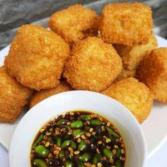 Tofu Recipes, Snack Recipes, Cooking Recipes, Snacks, Salad Recipes, Best Bread Recipe, Indonesian Food, Indonesian Desserts, Indonesian Recipes