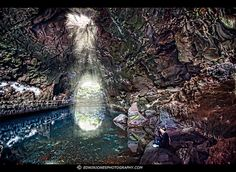 Jameos de Agua underground lake, Lanzarote, Canary Islands (Spain), photograph (c) EdwinJonesPhotography.com