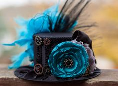 Steampunk Mini Top Hat - Alice nel paese delle meraviglie - partito Top Hat - Steampunk cappello