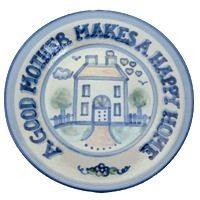 Hadley Pottery Mother's Day Plate $36.50