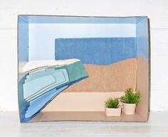 david in the desert_diorama