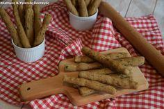 Κριτσίνια με αλεύρι Ζέας και σπανάκι 10 Toddler Meals, Cinnamon Sticks, Spices, Yummy Food, Bread, Healthy, Recipes, Spice, Delicious Food