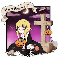 Halloween Lenore the cute little dead girl