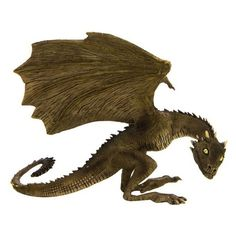 Game of Thrones Rhaegal Dragon Sculpt ❤ liked on Polyvore featuring dragon