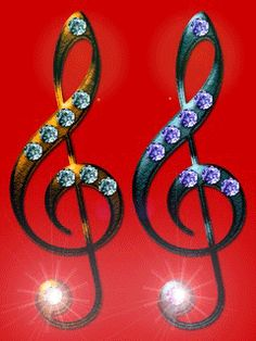 Гифка скрипичный ключ, своими