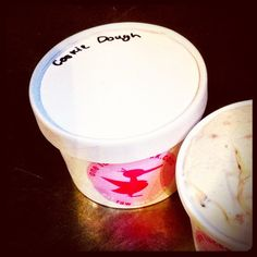 COOKIE DOUGH ice cream. Enough said. #Raw #Vegan www.oneluckyduck.com