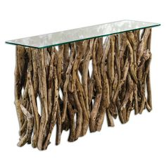 Teak Wood Console from Uttermost (25593), $939.00