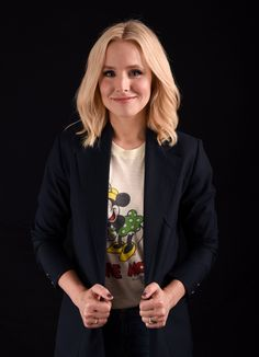 Kristen Bell - 'The Good Place' Portraits by Stephen Lovekin at Comic-Con International July 2016