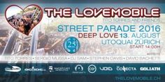 The Lovemobile at Street Parade Zürich Deep Love, Digital Watch, Street, Dance, Walkway