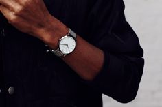 Established in 2012 between Stockholm and London, Larsson & Jennings set out to disrupt the watch industry, paving a path away from the mass market and unsustainable production with watches that are manufactured responsibly and efficiently. Simple Watches, Cool Watches, Swiss Made Watches, Larsson & Jennings, Mens Fashion, Classic, Menswear, Chain, Silver