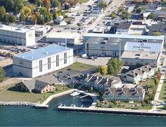 The Palmer Johnson shipyard in Door County